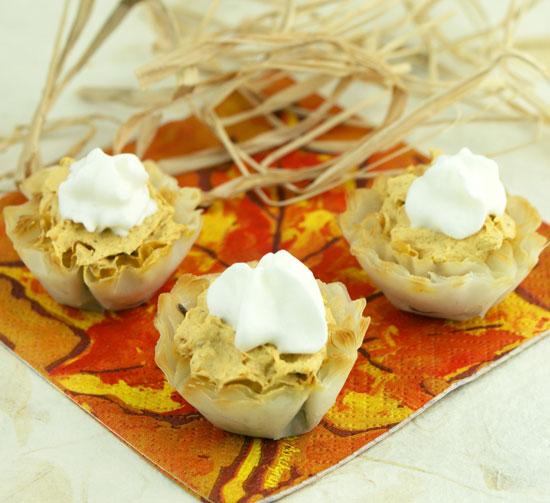 Mini Pumpkin Tarts | CANDIQUIK