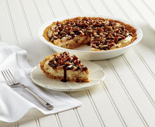 5th Day Of Christmas Turtle Cheesecake Bars Recipe — Dishmaps