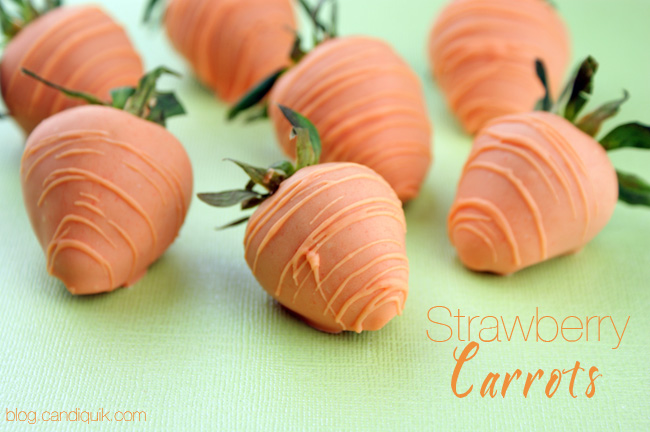Chocolate Strawberry Carrots Candiquik